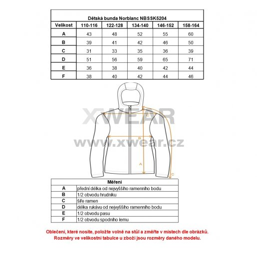 Dětská softshellová bunda NORDBLANC POSSIBLE NBSSK5204L ČERVENÁ 146-164