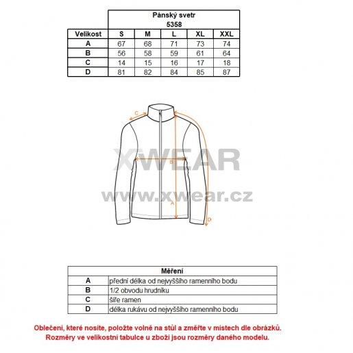 Pánský svetr NORDBLANC APEX NBWFM5358 CAPE ZELENÁ