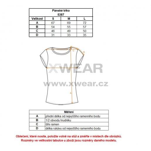 Pánské tričko NORDBLANC CLASSICAL NBFMT5387 ŽELEZNÁ MODRÁ