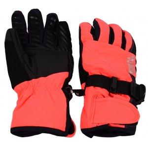 Dámské lyžařské rukavice NORDBLANC STEEP NBWG4730 RŮŽOVÁ DIVA