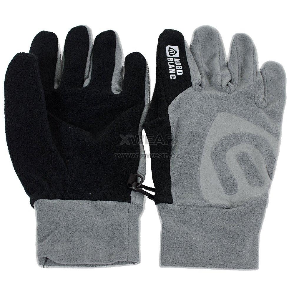435db6d0156 Fleecové rukavice NORDBLANC BRAVERY NBWGF4696 GRAFIT velikost  10 ...
