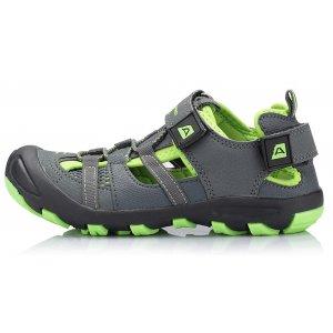 Dětská letní obuv ALPINE PRO BILPIN ŠEDÁ 21913927476