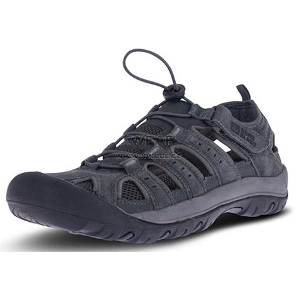 Pánské outdoorové sandály NORDBLANC Orbit NBSS70 TMAVĚ ŠEDÁ velikost ... 5e0fdcddfe