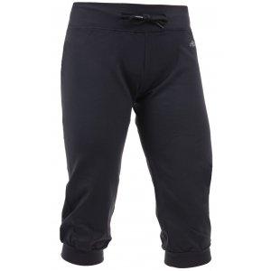 Dámské 3/4 elastické kalhoty ALTISPORT AVY ALLS16077 ČERNÁ