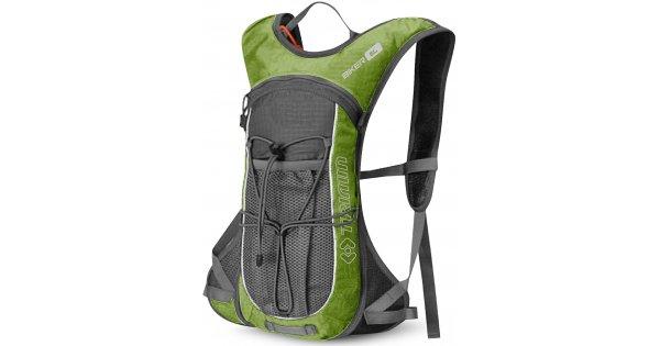 2c6270e27ba Cyklistický batoh TRIMM BIKER 6L GREEN GRAY velikost  6 l   XWEAR.cz