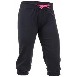Dámské 3/4 elastické kalhoty ALTISPORT AVY ALLS16077 ČERNORŮŽOVÁ