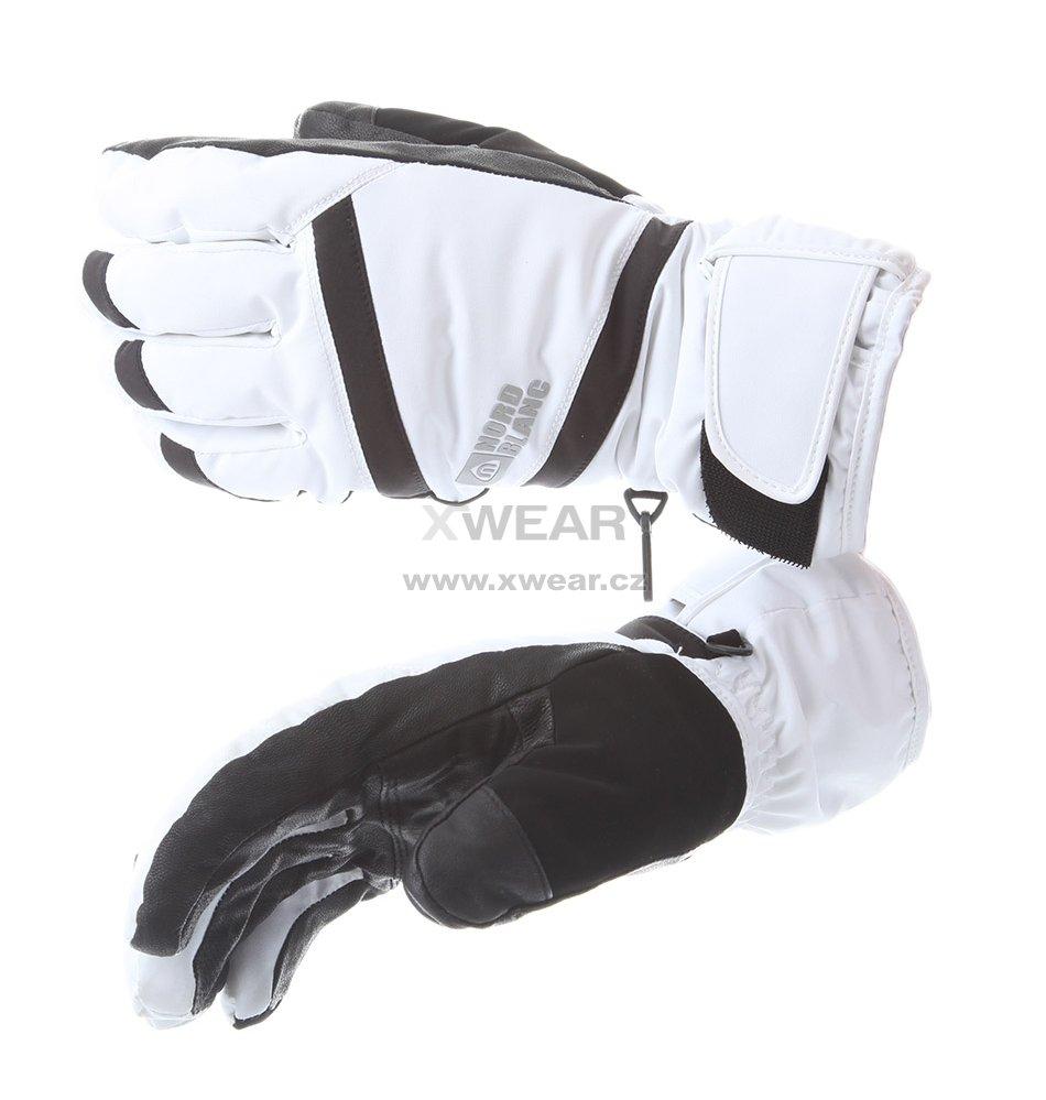 Lyžařské rukavice NORDBLANC TRULY NBWG5976 BÍLÁ velikost  4   XWEAR.cz 7571a2c091