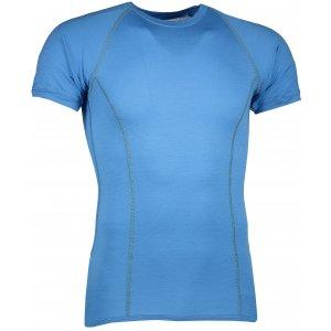 Pánské termoprádlo SENSOR MERINO ACTIVE krátký rukáv modrá