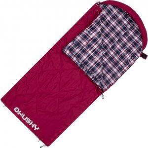Dekový spací pytel Husky Groty -5°C červená