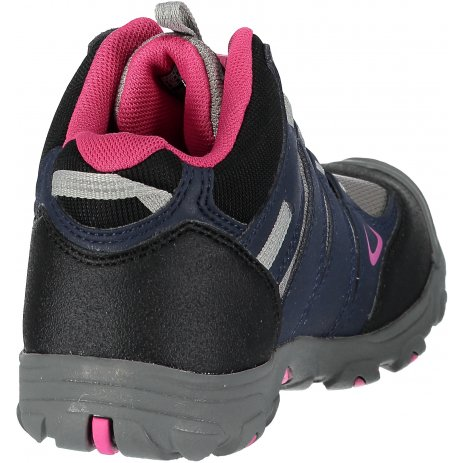 Dětské turistické boty KEEN OAKRIDGE MID WP JR DRESS BLUES/VERY BERRY