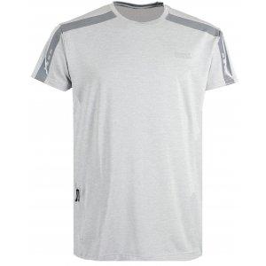Pánské běžecké tričko NORDBLANC SENSIBLE NBSMF6166 SVĚTLE ŠEDÝ MELÍR c72ef5c681