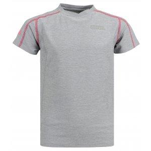 4f42ad59faa Dívčí sportovní tričko NORDBLANC SEE NBSKF6294L SVĚTLE ŠEDÝ MELÍR