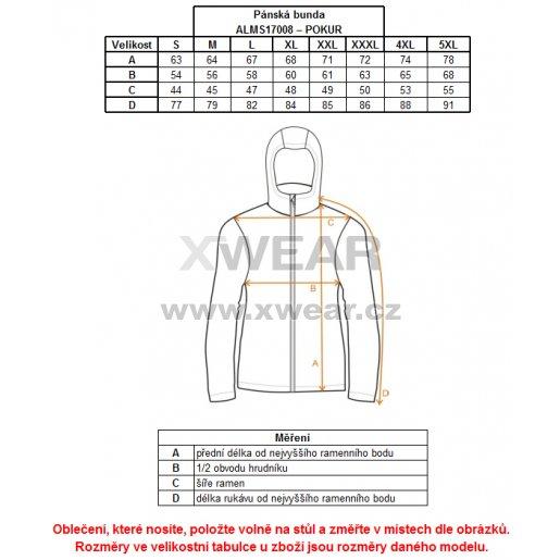 Pánská softshellová bunda ALTISPORT POKUR ALMS17008 ČERNOŠEDÁ