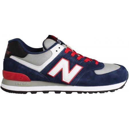 Pánská volnočasová obuv NEW BALANCE ML574CPM ŠEDOMODRÁ