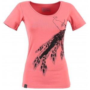 Dámské triko s krátkým rukávem ALTISPORT NEURA ALLS17057 RŮŽOVÁ