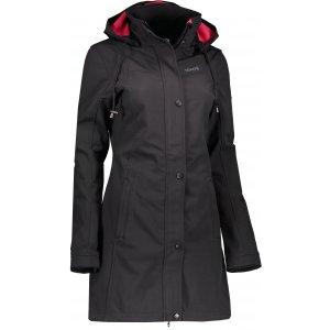 Dámský softshellový kabát KIXMI DIORA AALCW17704 ČERNÁ