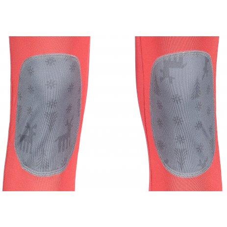 Dámské termo kalhoty SENSOR FLOW 16200070-00 ČERVENÁ/SOBI