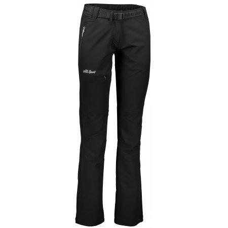 Dámské outdoorové kalhoty ALTISPORT GINOSA ALLW17033 ČERNÁ