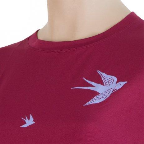 Dámské triko s krátkým rukávem SENSOR COOLMAX FRESH PT SWALLOW 17100038-00 LILLA