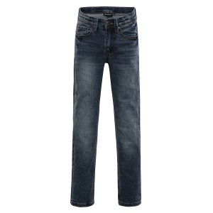 7dccd694924 Dětské kalhoty ALPINE PRO ALGODO KPAK066 MODRÁ