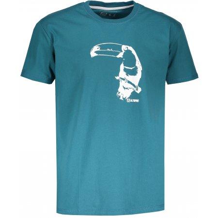 Pánské tričko s krátkým rukávem ALTISPORT KOVRT TYRKYSOVÁ