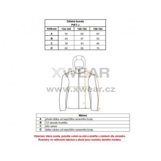Chlapecká zimní bunda ALTISPORT PIRT-J ALJW17015 ŠEDÝ MASKÁČ