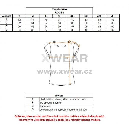 Pánské tričko s krátkým rukávem ALTISPORT ROGES TYRKYSOVÁ