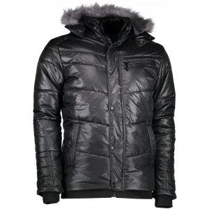 Pánská zimní bunda KIXMI DAVIS ČERNÁ