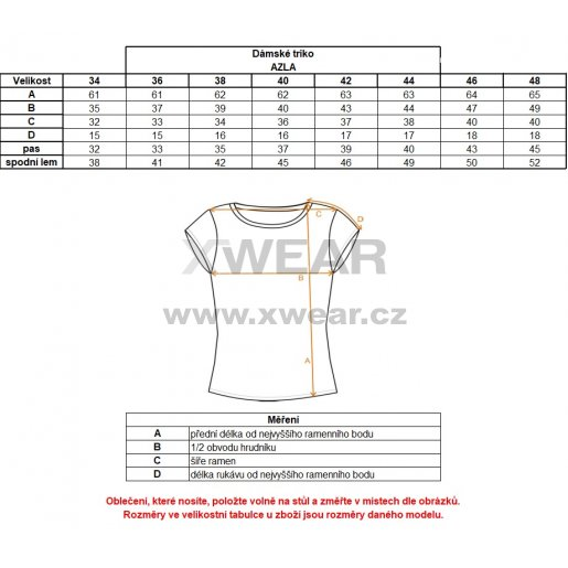 Dámské triko ALTISPORT AZLA ALLW17061 ZELENÁ