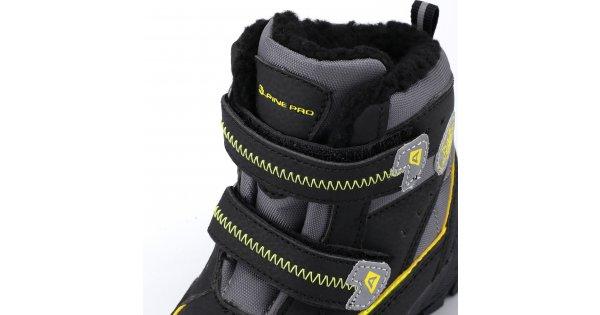 a804c4a5df2 Dětské zimní boty ALPINE PRO KIBBI KBTK134 ČERNÁ velikost  EU 26   XWEAR.cz