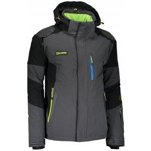 Pánská zimní bunda ALTISPORT KSAR ALMW17014 TMAVĚ ŠEDÁ