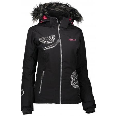 Dámská zimní bunda ALTISPORT ANRIJA ALLW17005 ČERNÁ