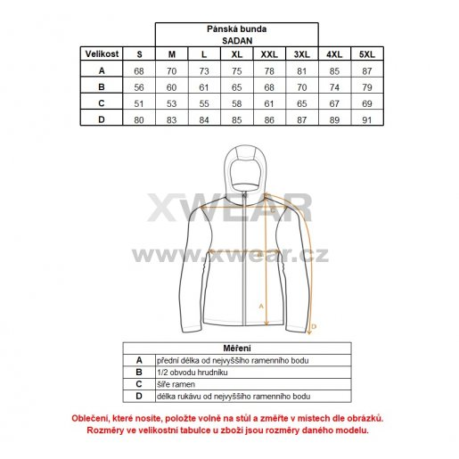 Pánská bunda ALTISPORT SADAN ALMW17018 MODRÁ