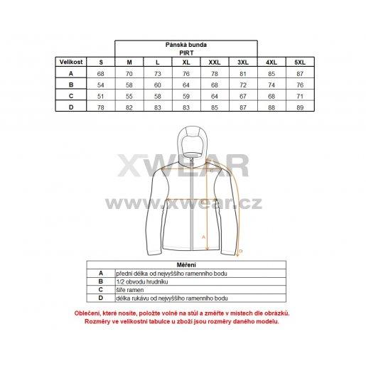 Pánská zimní bunda ALTISPORT PIRT ALMW17015 ŠEDÝ MASKÁČ