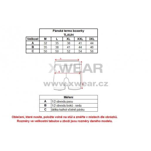 Pánské termo boxerky ALTISPORT TLAUH ALMW17136 MODRÁ