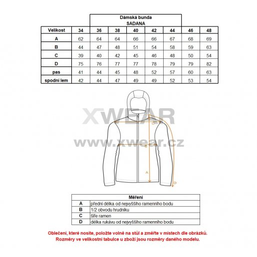 Dámská bunda ALTISPORT SADANA ALLW17017 TMAVĚ MODRÁ