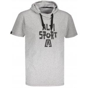 Pánské tričko s krátkým rukávem ALTISPORT ROGES MELÍR