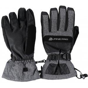 Pánské lyžařské rukavice ALPINE PRO NUSSE MGLK015 ČERNÁ 984e34556a