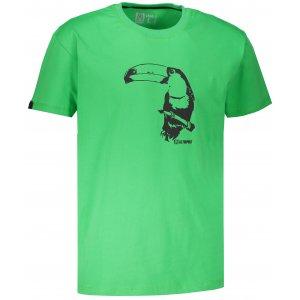 Pánské tričko s krátkým rukávem ALTISPORT KOVRT ZELENÁ
