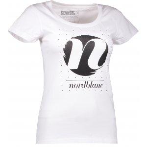 Dámské tričko NORDBLANC CYCLE NBFLT6559 BÍLÁ