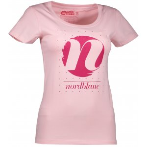 Dámské tričko NORDBLANC CYCLE NBFLT6559 SVĚTLE RŮŽOVÁ