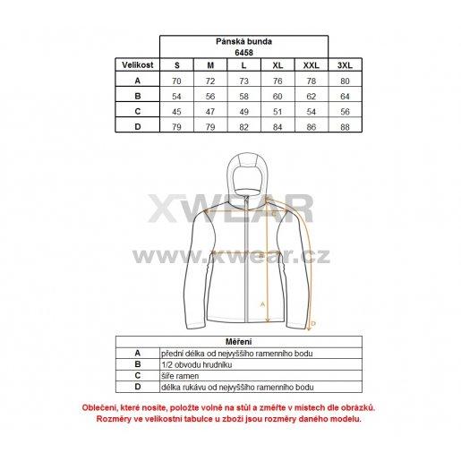 Pánská softshellová bunda NORDBLANC ARMS NBWSM6458 GRAFITOVÝ MELÍR