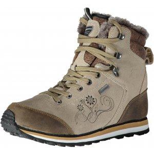 63af011da3f Dámské zimní kotníkové boty ALPINE PRO XALINA LBTK143 BÉŽOVÁ