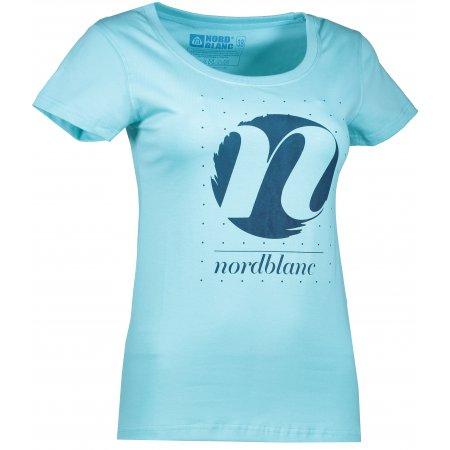 Dámské tričko NORDBLANC CYCLE NBFLT6559 TYRKYSOVÁ