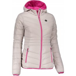 Dámská zimní bunda NORDBLANC GLAMOR NBWJL6429 SEVERNÍ ŠEDÁ