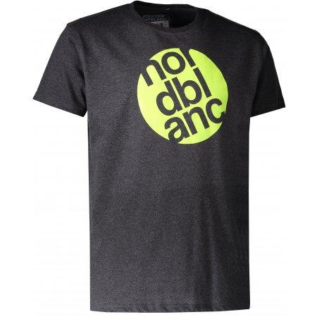Pánské triko NORDBLANC CIRCLE NBFMT6545 GRAFITOVÝ MELÍR