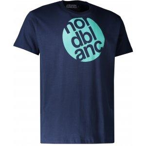 Pánské triko NORDBLANC CIRCLE NBFMT6545 TEMNÁ MODRÁ