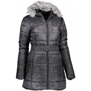 Dámský zimní kabát ALPINE PRO BETHA LCTK055 ČERNÁ