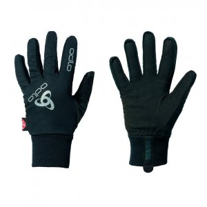 Běžkařské rukavice windstopperem® ODLO CLASSIC WARM XC 792720-15000 ČERNÁ 027f782802