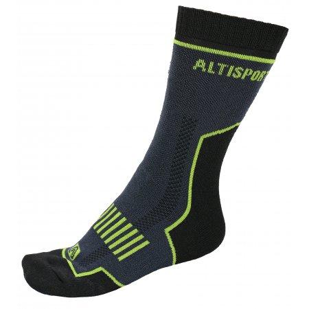 Trekingové ponožky ALTISPORT KARTHALA ALSW17405 ČERNÁ